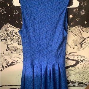 Guess Dresses - GUESS Cocktail Dress Blue Business Midi
